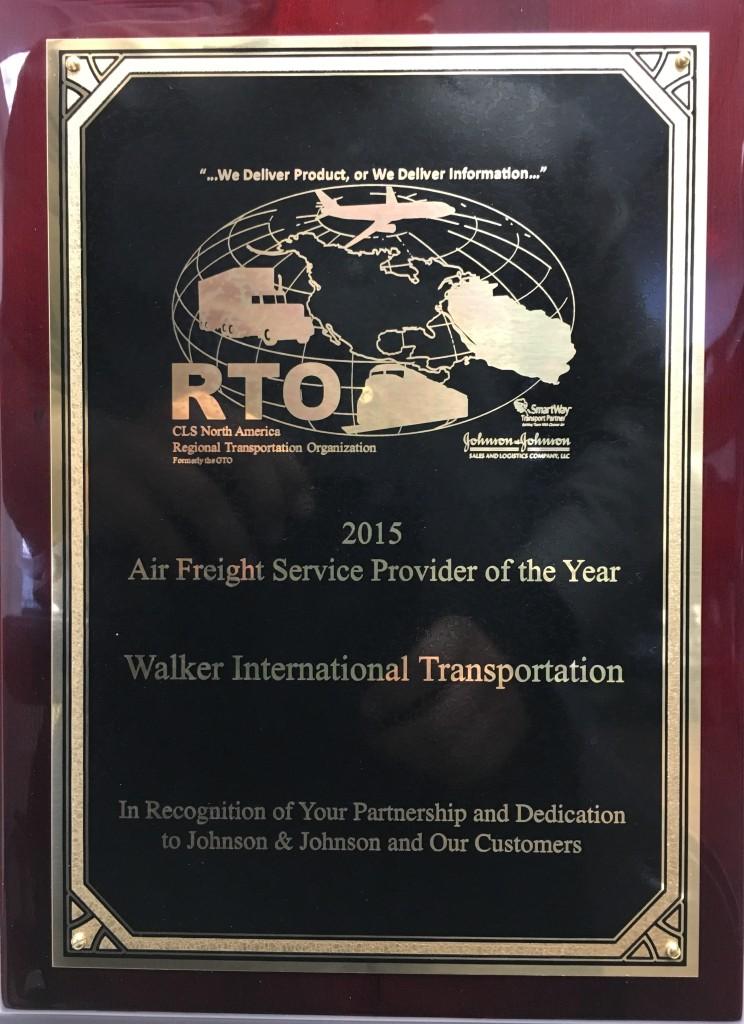 JNJ Airfreight Award